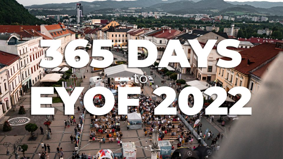 1 rok do EYOF Highlighty | EYOF 2022 Banská Bystrica